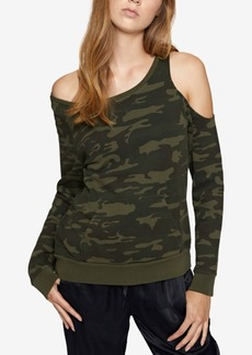 Sanctuary Gramercy Cotton Off-The-Shoulder Sweatshirt