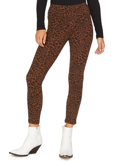 Sanctuary Grease Leopard Print Leggings (Regular & Petite)