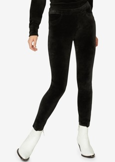 Sanctuary Grease Velour Pants