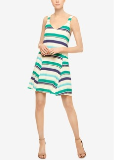 Sanctuary Harlow Striped Drop-Waist Dress