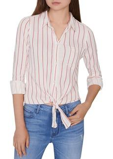 Sanctuary Hayley Striped Tie-Hem Shirt