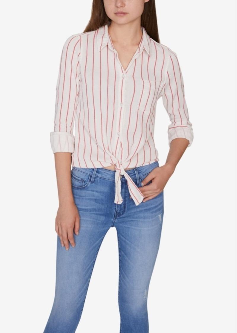 Sanctuary Hayley Tie-Front Shirt