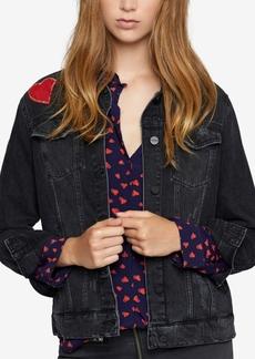 Sanctuary Heartbreaker Embroidered Denim Jacket