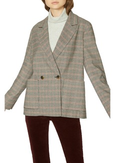 Sanctuary Heritage Plaid Boyfriend Blazer (Regular & Petite)