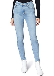 Sanctuary High Waist Ankle Skinny Jeans (Forum Light Blue)