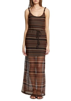 Sanctuary Horizon Multi-Striped Maxi Dress