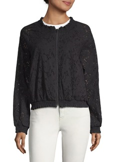 Sanctuary In Bloom Cotton Cutwork Jacket