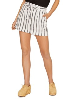 Sanctuary Inland Striped Tie-Waist Shorts