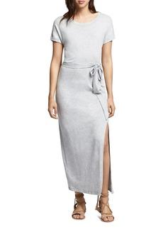 Sanctuary Isle Tie-Waist Maxi Tee Dress