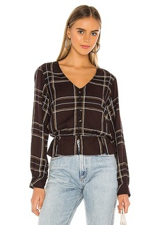 Sanctuary Jasper Button Front Blouse