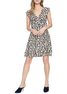 Sanctuary Johanna Animal Print Wrap Dress