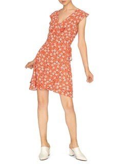 Sanctuary Johanna Floral Wrap-Front Dress