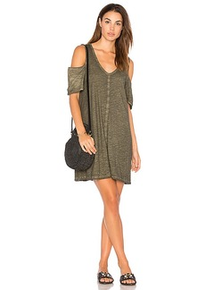 Sanctuary Jolene Dress in Dark Green. - size L (also in M,S,XS)