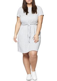 Sanctuary Juno Tie Waist T-Shirt Dress (Plus Size)