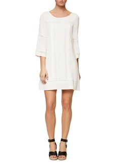 Sanctuary Lace Trim Shift Dress