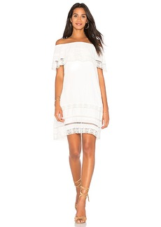 Sanctuary Lacey Dress in White. - size M (also in S,XS)