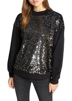 Sanctuary Last Dance Sequin Sweatshirt
