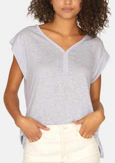 Sanctuary Laura V-Neck Solid T-Shirt