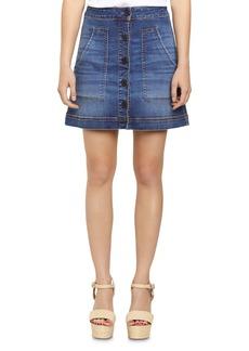 Sanctuary Lena Denim Mini Skirt
