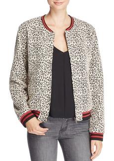 Sanctuary Leopard Print Bomber Jacket - 100% Bloomingdale's Exclusive