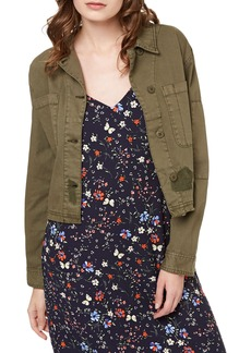 Sanctuary Lieutenant Crop Military Jacket