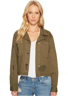 Sanctuary Lieutenant J Cropped Military Jacket
