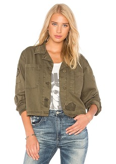 Sanctuary Lieutenant Military Jacket in Olive. - size M (also in S,XS)