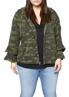 Sanctuary Life Adventure Camo Hoodie (Plus Size)