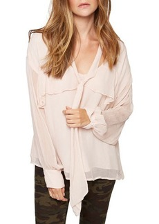 Sanctuary Lily Neck-Tie Blouse