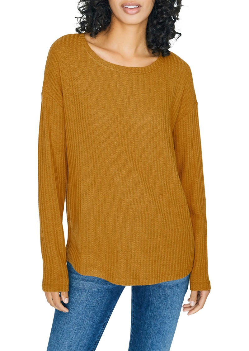 Sanctuary Lina Waffle Knit Tunic Top (Regular & Petite)