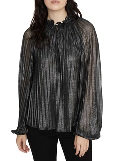 Sanctuary Live It Up Volume Blouse (Regular & Petite)