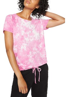 Sanctuary Lou Tie Dye Drawstring T-Shirt (Regular & Petite)