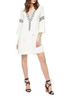 Sanctuary Lucie Embroidered Lace-Up Peasant Dress
