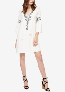 Sanctuary Lucie Lace-Up Bell-Sleeve Dress