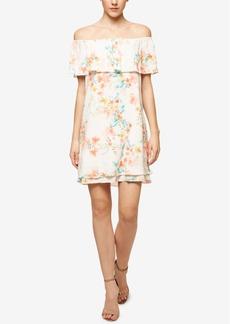 Sanctuary Lulu Printed Flounce Dress
