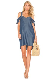 Sanctuary Madeline Dress in Blue. - size L (also in M,S,XS)
