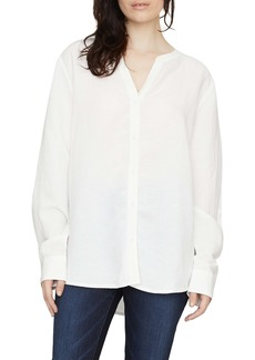 Sanctuary Marli Linen Blend Boyfriend Shirt