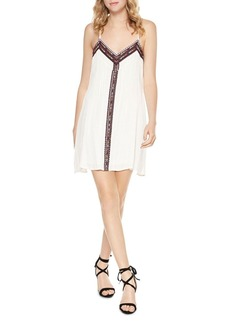 Sanctuary Maya Embroidered Slip Dress