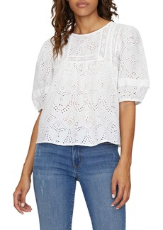 Sanctuary Meadow View Cotton Embroidery Blouse