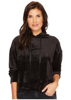 Sanctuary Melrose Brigade Velour Hoodie Sweatshirt