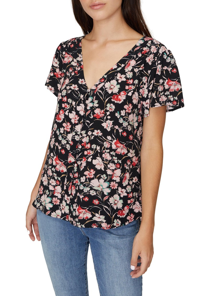 Sanctuary Mia Floral Top (Regular & Petite)