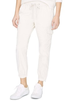 Sanctuary Mia Stretch Cotton Cargo Jogger Pants (Regular & Petite)