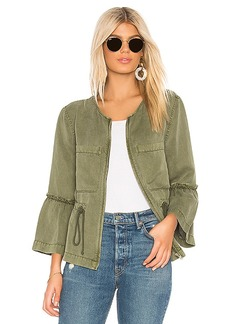 Sanctuary Military Frill Peplum Jacket