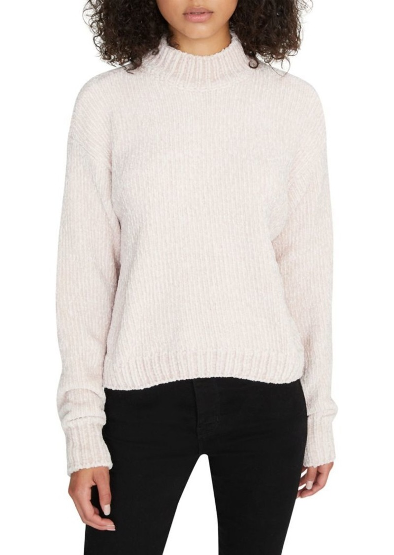 Sanctuary Mockneck Chenille Sweater
