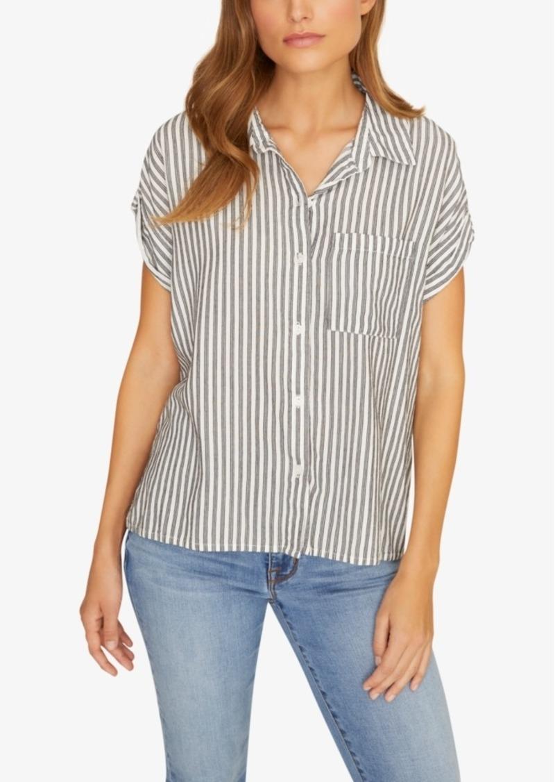 Sanctuary Mod Striped Shirt