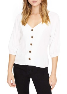 Sanctuary Modern Button Front Top (Regular & Petite)