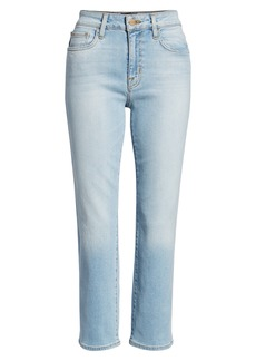 Sanctuary Modern Crop Straight Leg Jeans (Forum Light Blue)