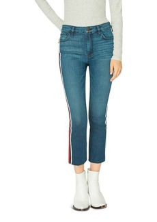 Sanctuary Modern High-Rise Crop Jeans in Detroit Blue