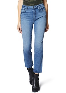 Sanctuary Modern High Waist Crop Straight Leg Jeans (Chelsea Blue)
