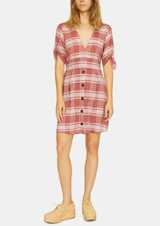 Sanctuary Modern Love Printed Button-Front Dress